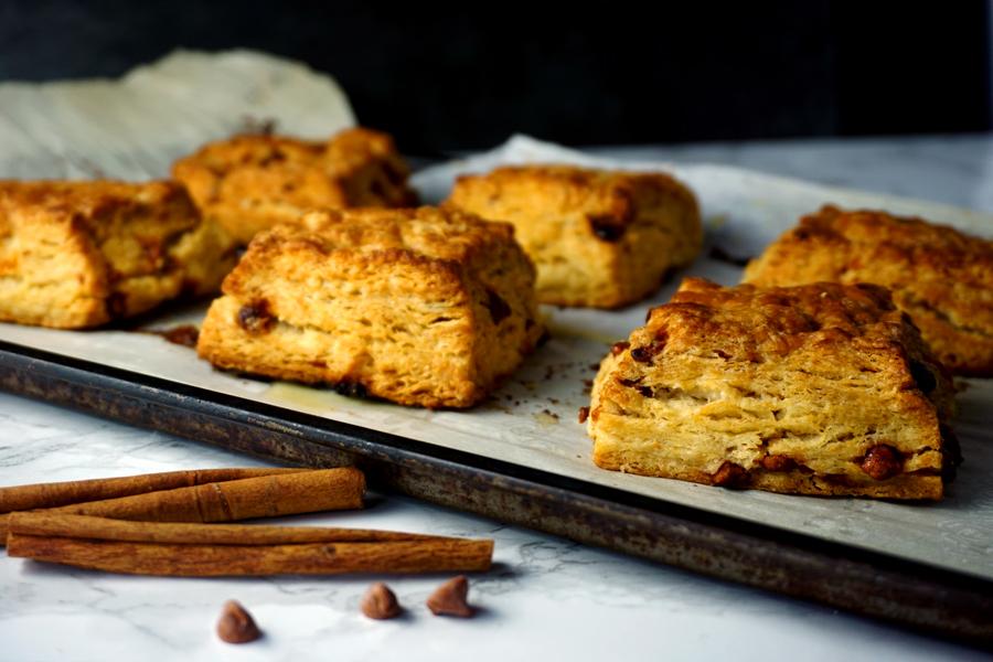 Maple Cinnamon Buttermilk Biscuits