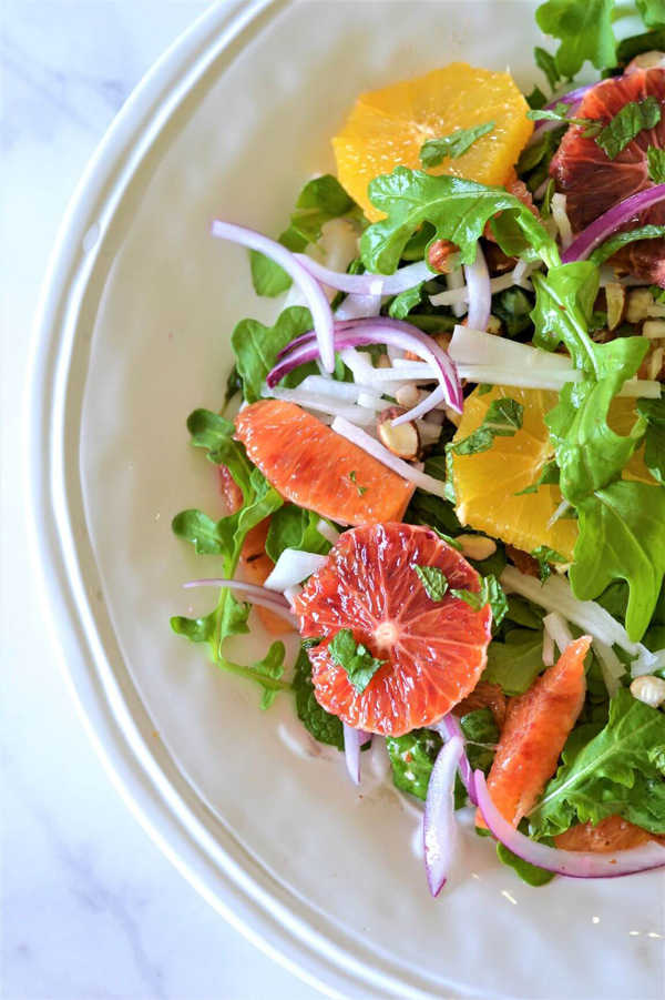 Blood Orange nd Rocket Salad by The Cooking Collective