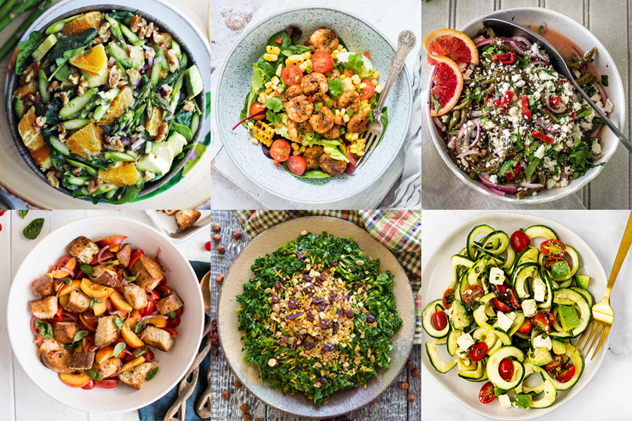 Summer Salads that Inspire from Around the Internet